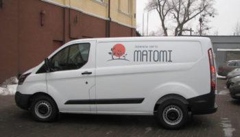 Оформление рекламой транспорта