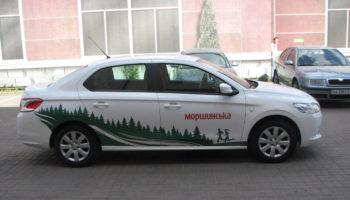 Брендирование автомобиля - Автомагия