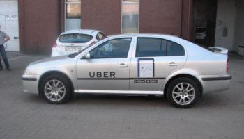 Брендирование авто Uber - Автомагия