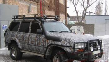 Городской камуфляж на авто