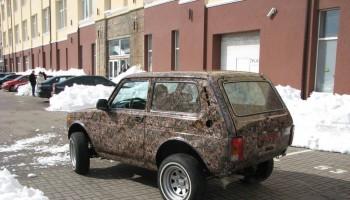 Пленка камуфляж для авто