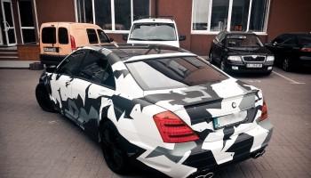 Оклейка авто пленкой Киев