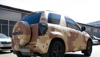 Камуфляж на авто
