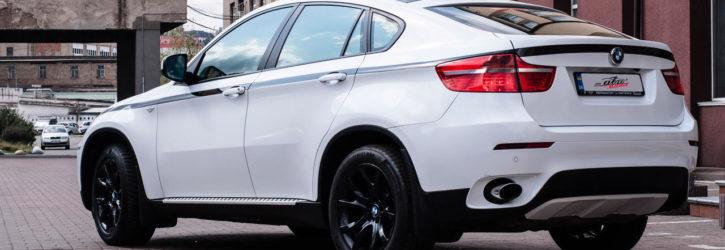 Обновленная внешность BMW X6