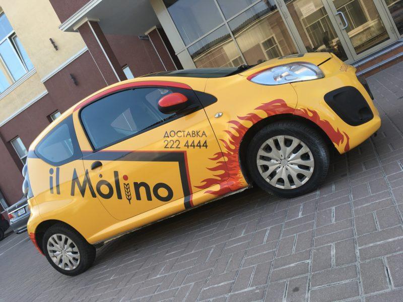 Оклейка авто пленкой - il Molino