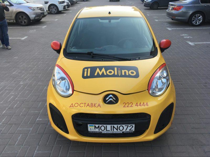 Оклейка автомобилей In Molino