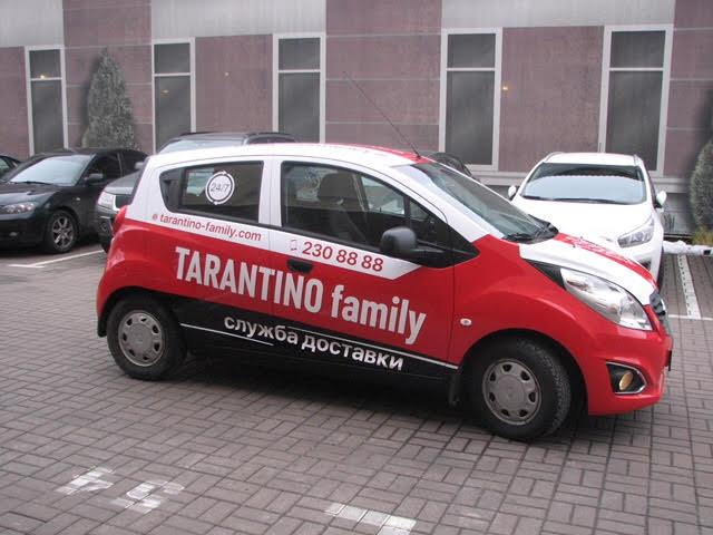 Оклейка автомобилей Tarantino family