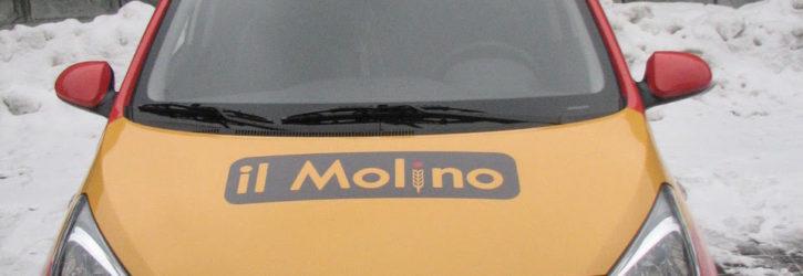 Кто тут заказывал пиццу? Брендирование новых автомобилей il Molino